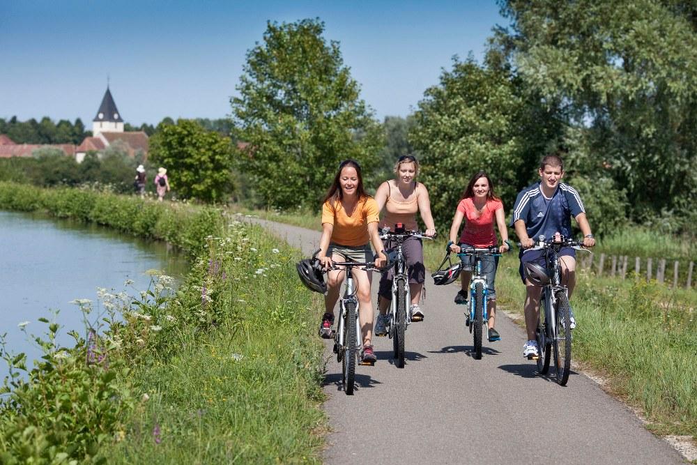 Circuit vélo en famille moulin - pilâtre de Rozier