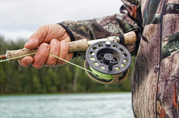 Fischerei am Campingplatz