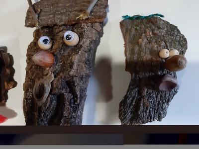 Atelier en famille: marionnettes nature