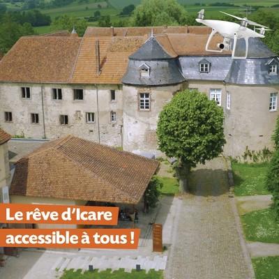 Le rêve d'Icare - visite immersive du château de Lorentzen