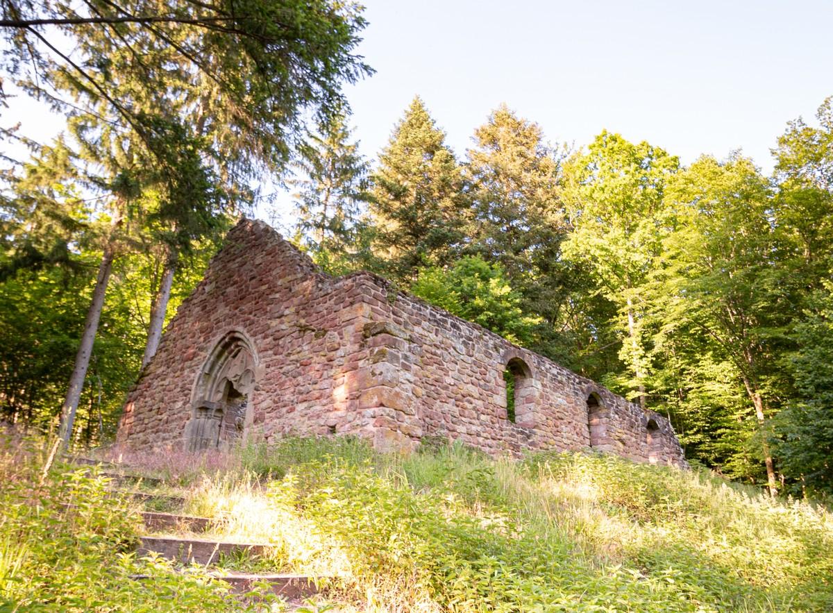 The mysteries of Heidenkirche