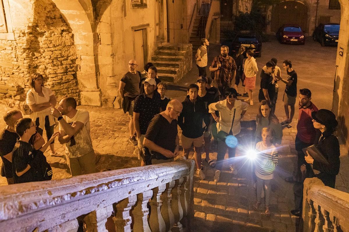 Visite guidée nocturne du château de Lorentzen