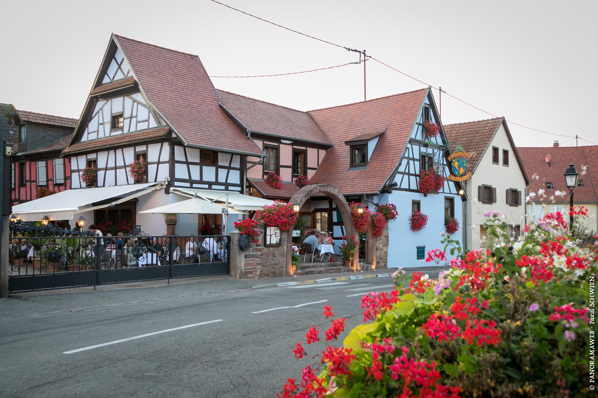 Restaurant au vieux porche eguisheim - Office de tourisme eguisheim ...