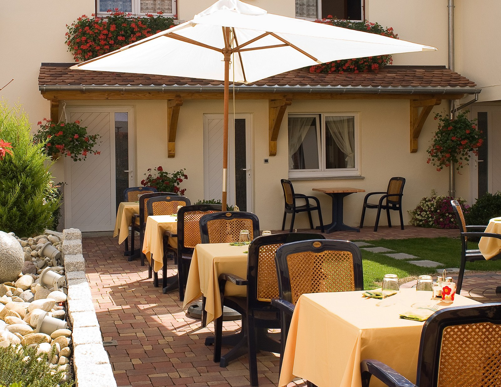 Hôtel-restaurant Spa Au Soleil