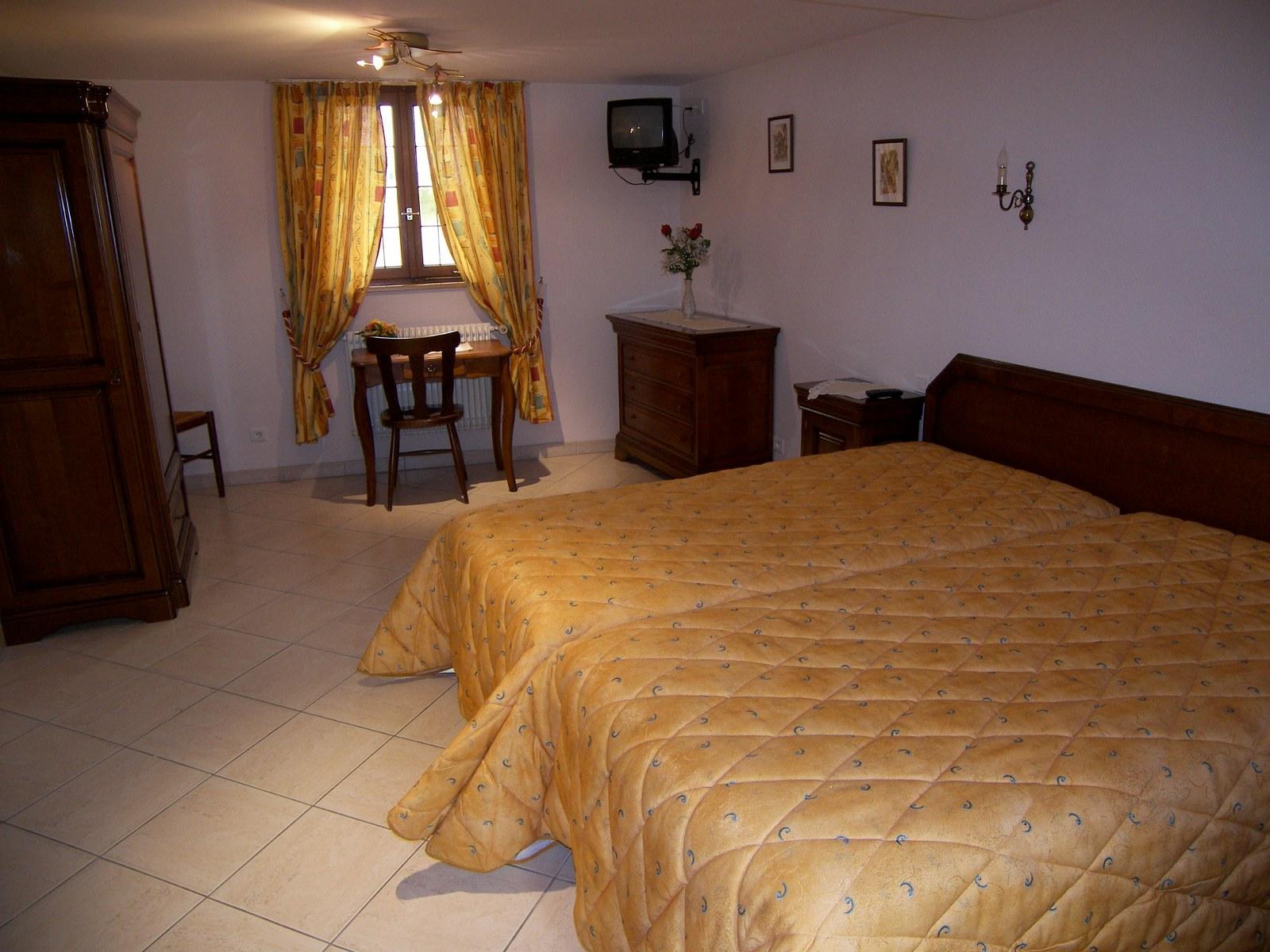 Chambre 2 lits n°9