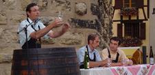 Dégustation commentée et illustrée des vins d'Eguisheim