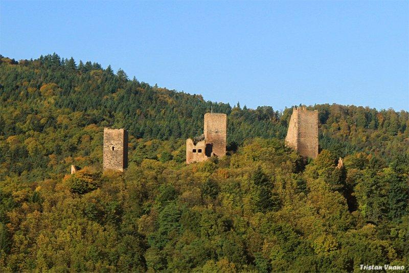 Die Drei Burgen von Eguisheim