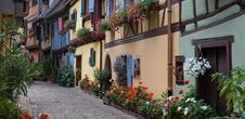 Typical village: Eguisheim