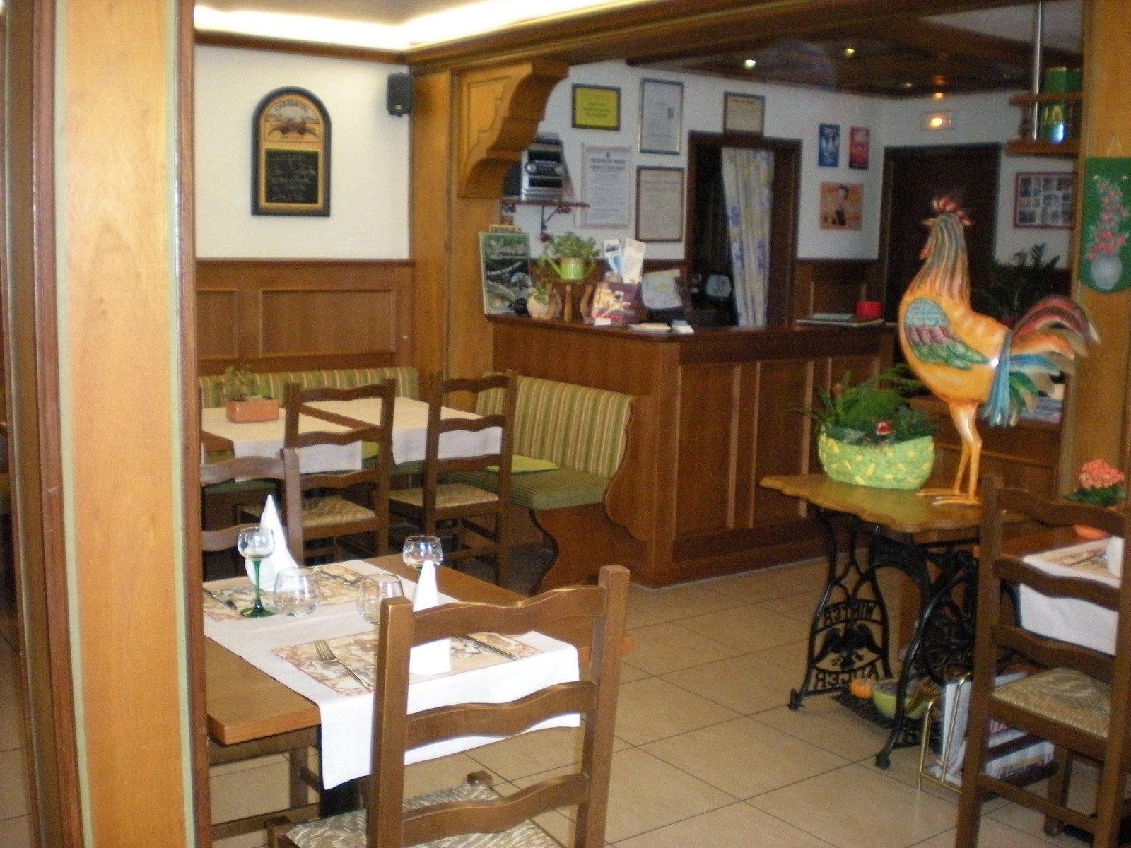 salle de restaurant - brasserie