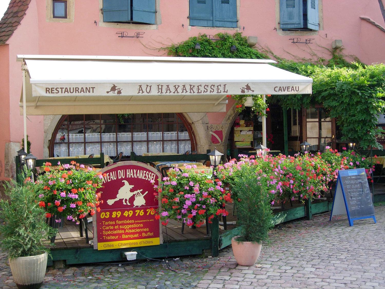Restaurant Haxakessel, Rouffach, Pays de Rouffach, Vignobles et Châteaux, Haut-Rhin, Alsace