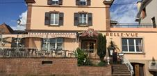 Restaurant Belle Vue, Gueberschwihr, Pays de Rouffach, Vignobles et Châteaux, Haut-Rhin, Alsace