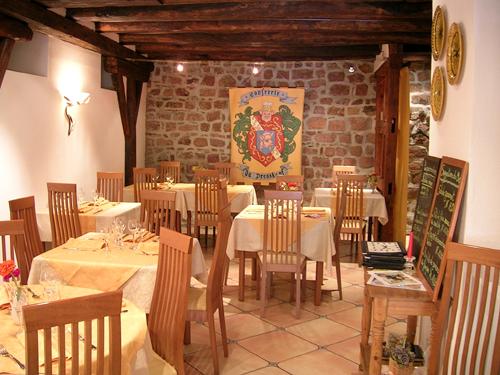 Restaurant Le Goldert, Gueberschwihr, Pays de Rouffach, Vignobles et Châteaux, Haut-Rhin, Alsace
