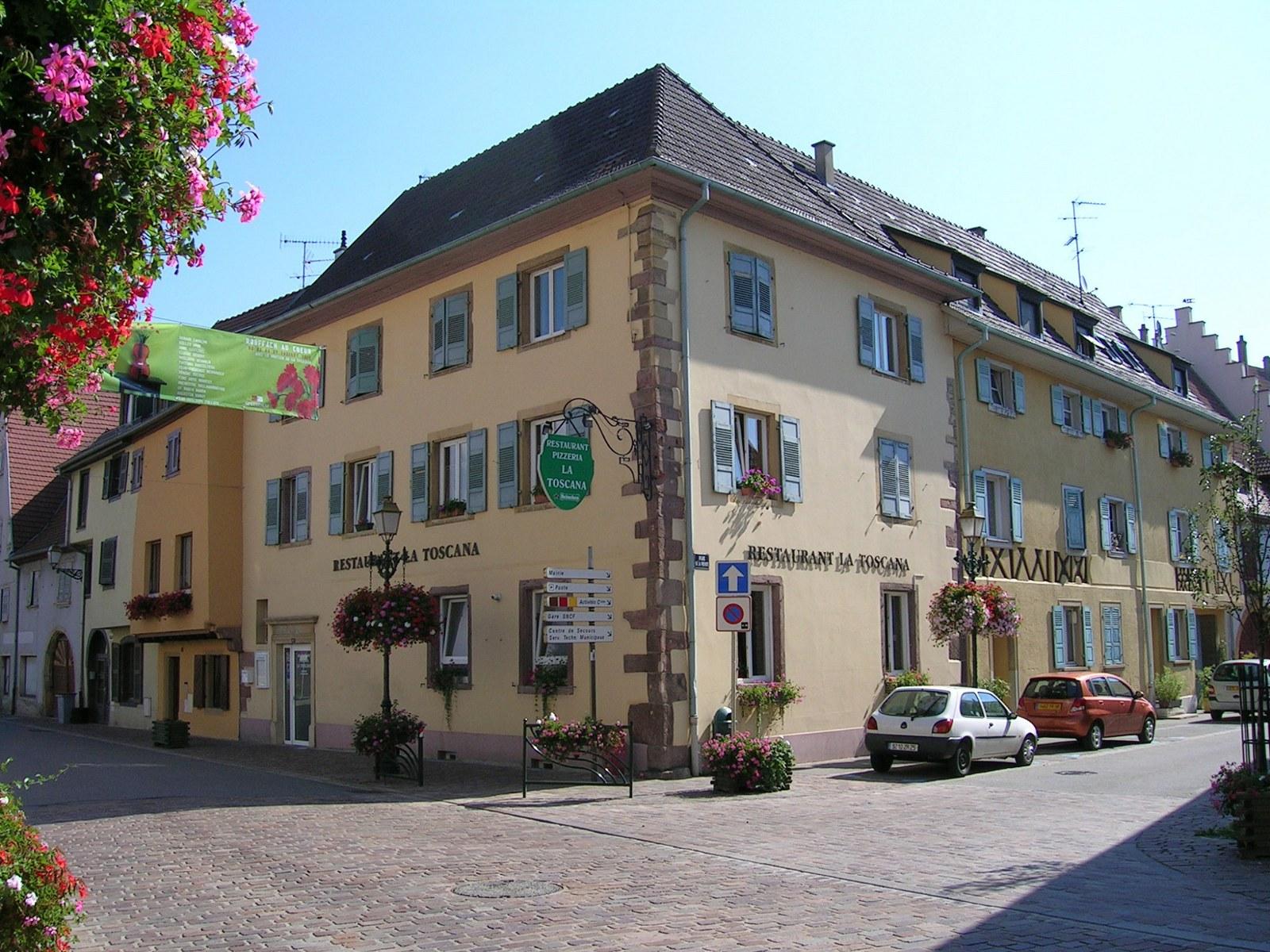 Pizzeria La Toscana, Rouffach, Pays de Rouffach, Vignobles et Châteaux, Haut-Rhin, Alsace