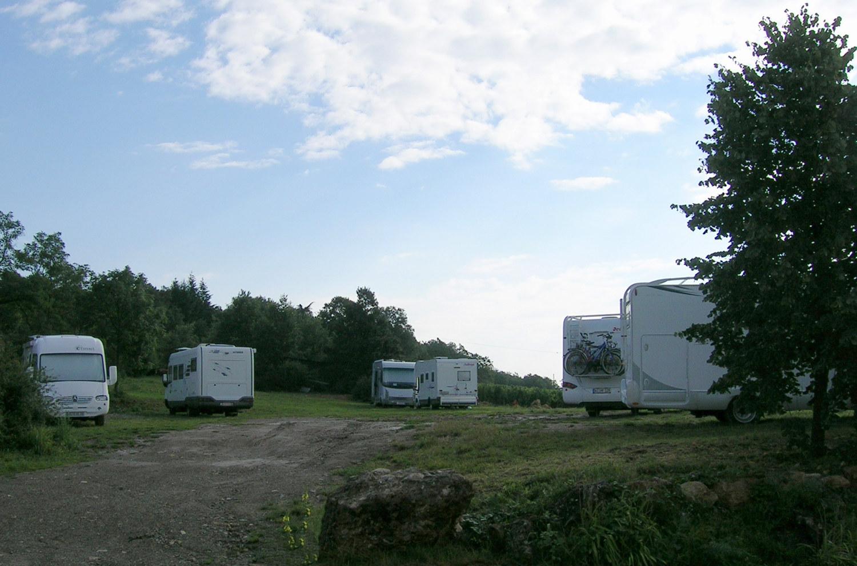 Aire de camping-cars, Bollenberg, Westhalten, Pays de Rouffach, Vignobles et Châteaux, Haut-Rhin, Alsace
