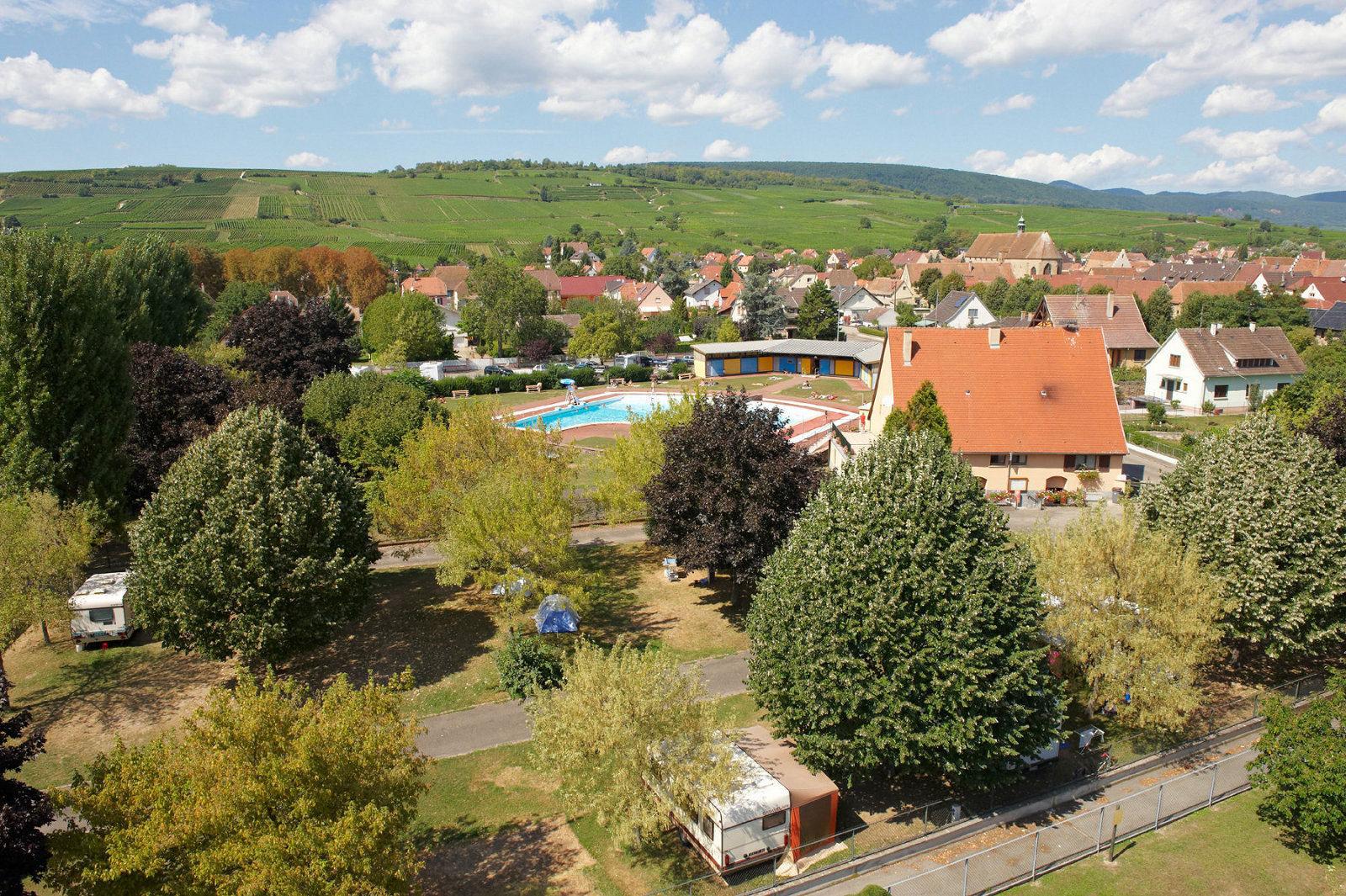 Camping municipal, Rouffach, Pays de Rouffach, Vignobles et Châteaux, Haut-Rhin, Alsace