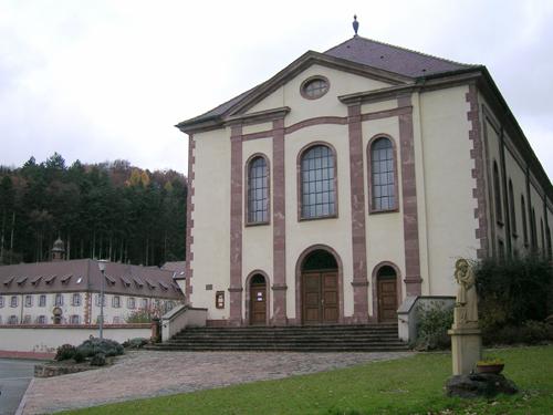 Couvent Saint-Marc, Gueberschwihr, Canton de Rouffach, Haut-Rhin, Alsace