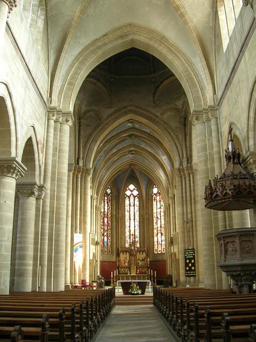 Eglise N.-D. de l'Assomption, Rouffach, Pays de Rouffach, Vignobles et Châteaux, Haut-Rhin, Alsace