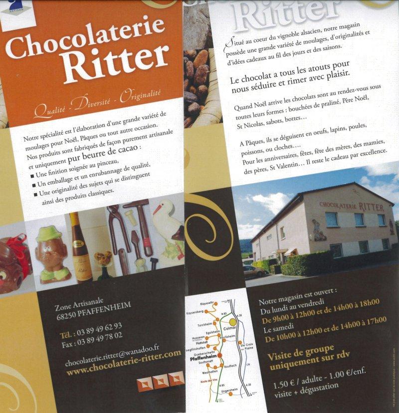 Chocolaterie Ritter, Pfaffenheim, Pays de Rouffach, Vignobles et Châteaux, Haut-Rhin, Alsace
