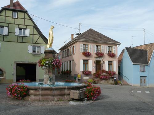 Obermorschwihr, Pays de Rouffach, Vignobles et Châteaux, Haut-Rhin, Alsace