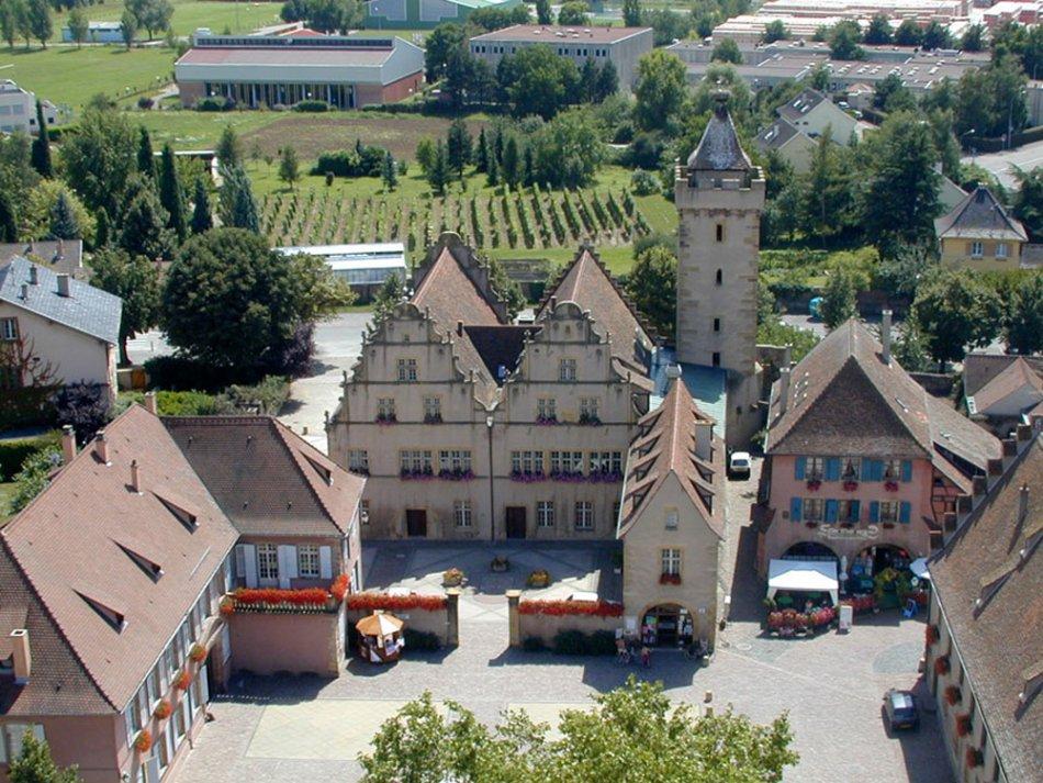 Der spaziergang des grand cru vorbourg rouffach - Office de tourisme eguisheim ...