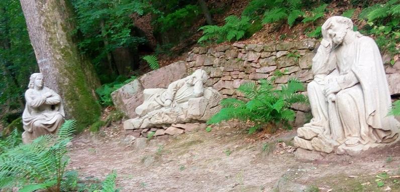 Sentier vignoble et spiritualité