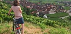 Le paysage à bicyclette