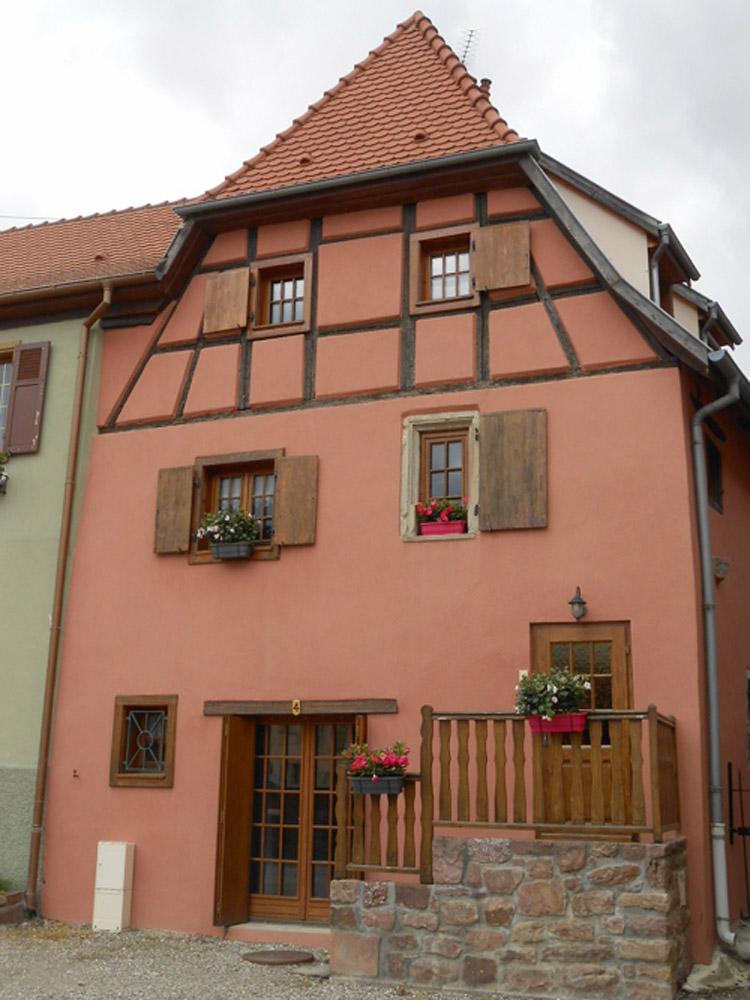 Meublé L'Accroche Coeur, Hattstatt, Pays de Rouffach, Vignobles et Château, Haut-Rhin, Alsace