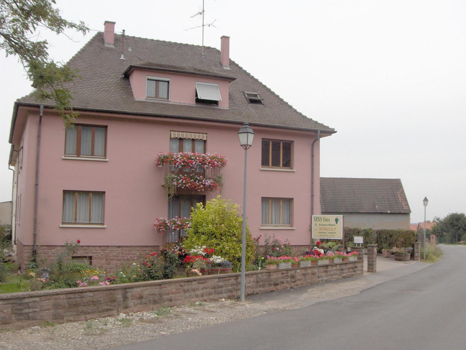 EARL Marzolf, Gueberschwihr, Pays de Rouffach, Vignobles et Châteaux, Haut-Rhin, Alsace
