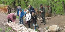 Ateliers de découverte du chantier de restauration du château du Ramstein