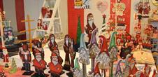 Expo : petit monde de Noël et sa ronde artistique