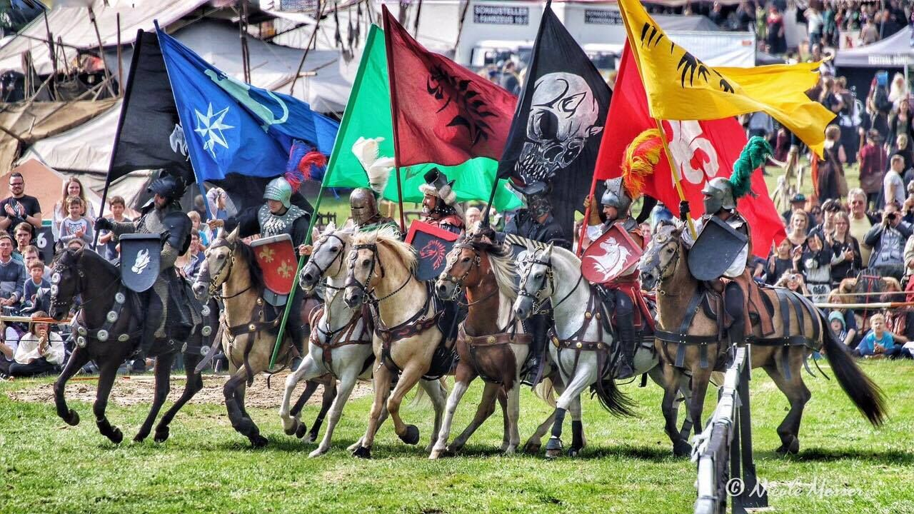Spectacle médiéval : Horses & Heroes