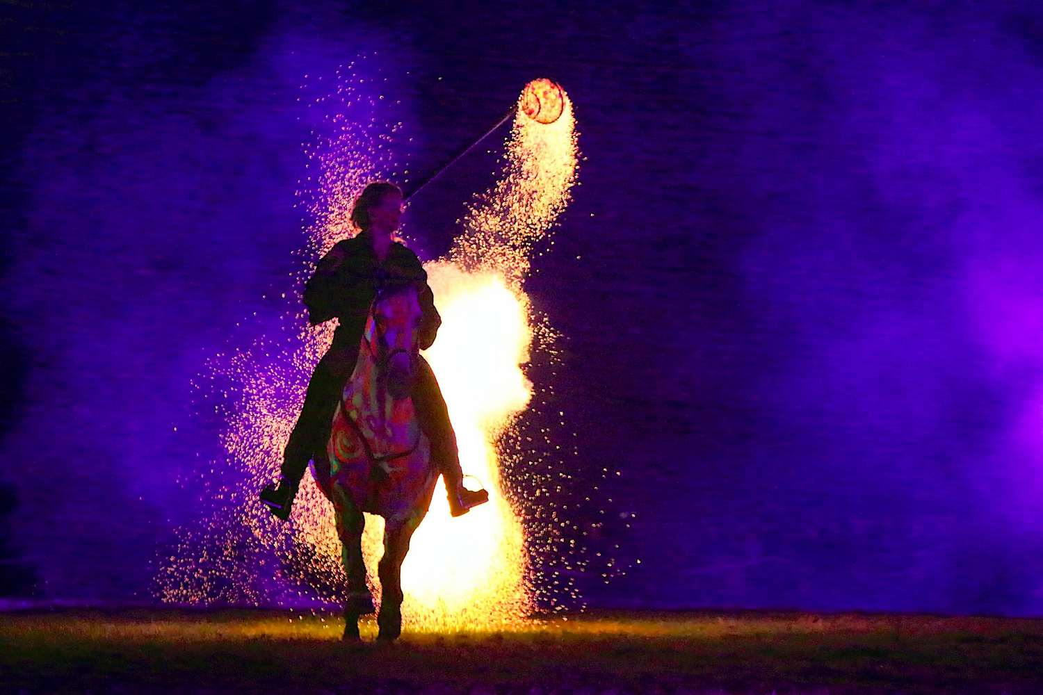 Spectacle nocturne : Horses & Heroes
