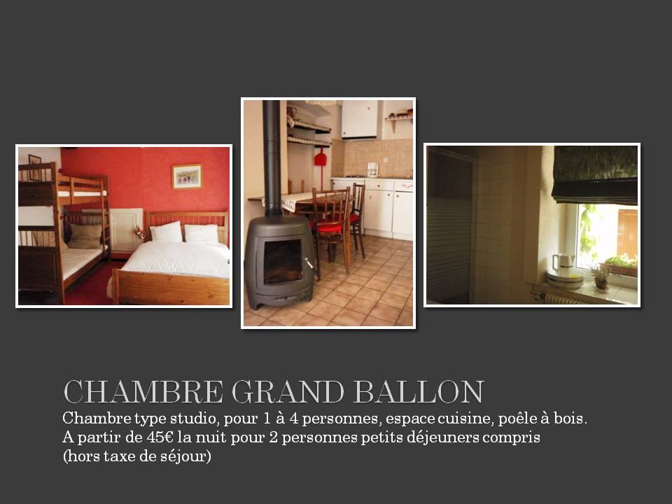 Chambre d 39 h tes le luxhof chambre grand ballon 4 for Chambre 4 personnes