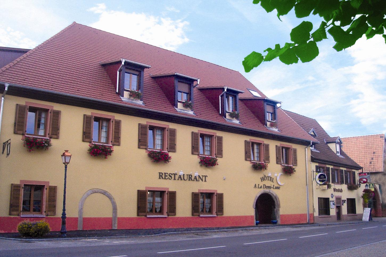 Hôtel-restaurant A La Demi-Lune
