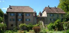 Ancien jardin du presbytère de la commune de Murbach