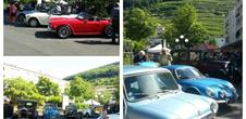 Rally of vintage cars
