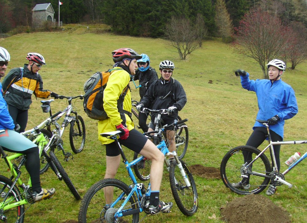Mountain bike route: Firstacker Route