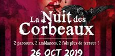 Sentier Halloween : Nuit des corbeaux