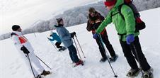 journée découverte de la raquette à neige au Markstein