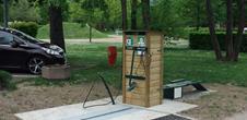 Station de lavage, maintenance et gonflage pour vélos - VTT