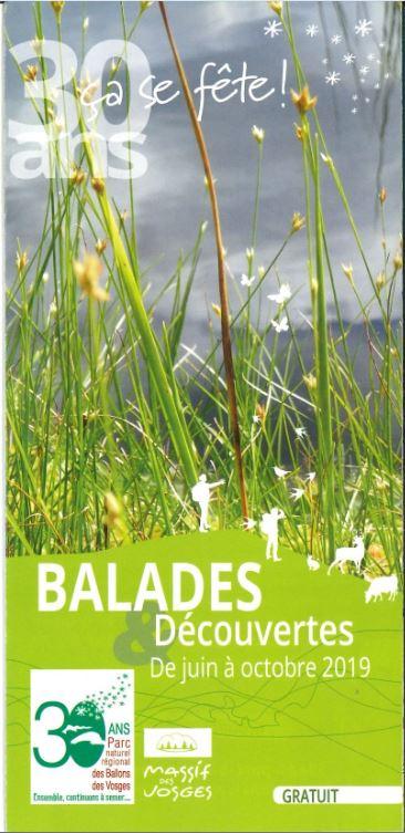Balades dans le Parc Naturel Régional des Ballons des Vosges