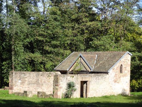 Cxhapelle Saint-Léonard, Pfaffenheim, Pays de Rouffach, Vignobles et Châteaux, Haut-Rhin, Alsace