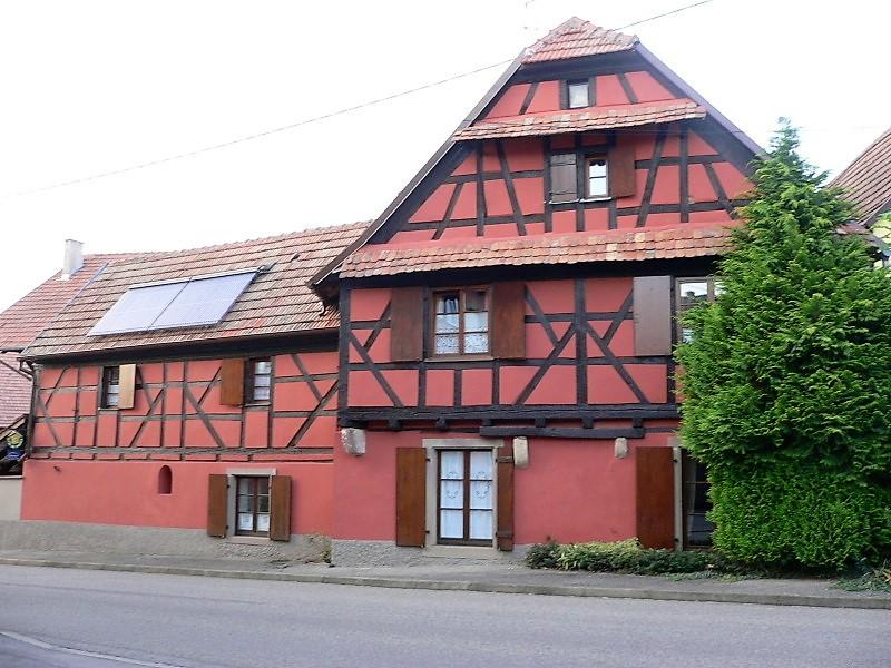 Meublé de tourisme Au Bal Paysan - Rheinlander (Berstett)
