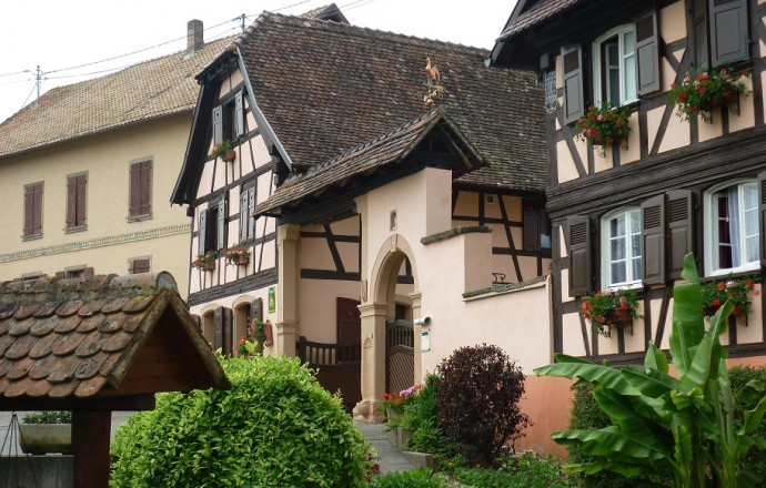Meublé de tourisme de M. BURGER Georges (Dingsheim)