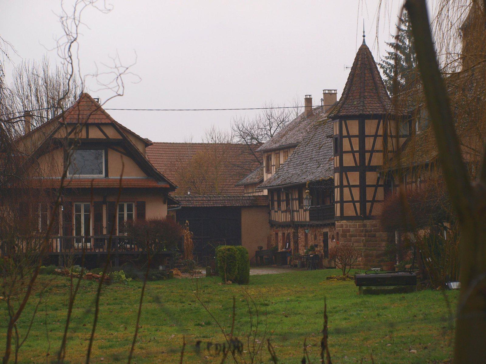 Meublé de tourisme La Tourelle de Mithra - Katzele (Neugartheim Ittlenheim)
