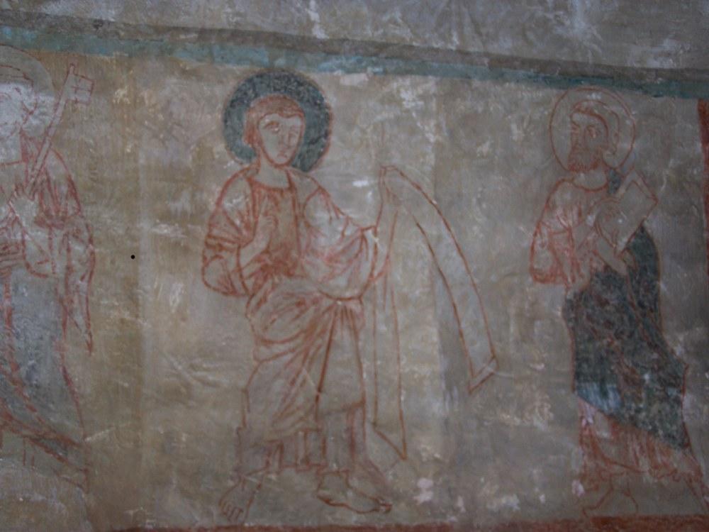 Fresques du début du 14ème siècle Eglise St Michel