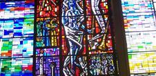 Vitraux de Ruhlmann Thierry de l'Eglise Pierre et Paul de Truchtersheim