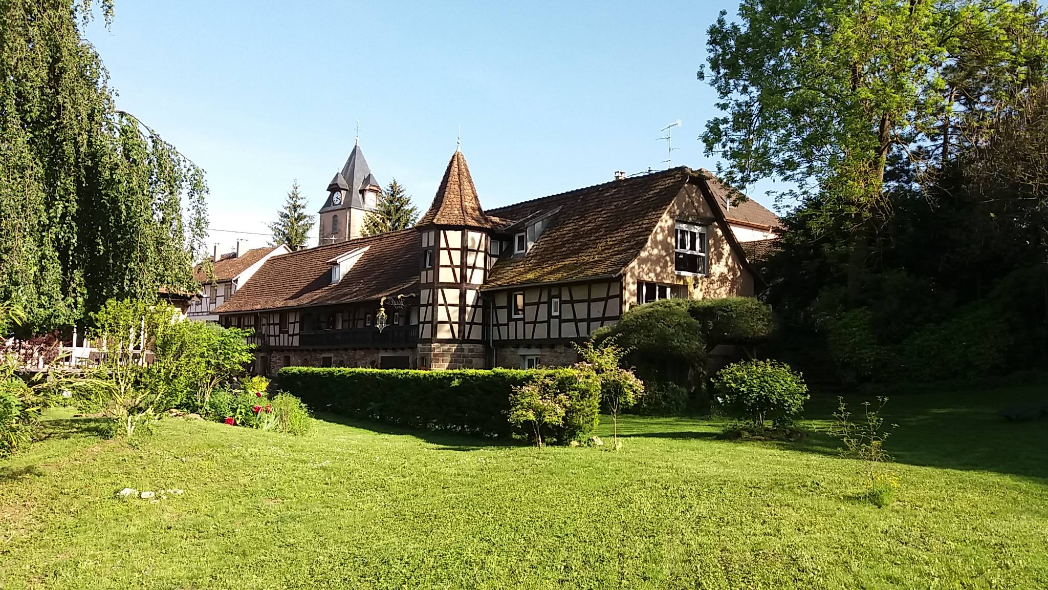 Chambres d'hôtes La Tourelle de Mithra - Maidele (Neugartheim Ittlenheim)