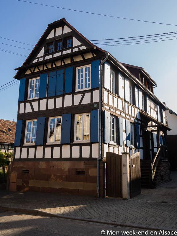 Chambre d'hôtes Les Volets Bleus (Quatzenheim)