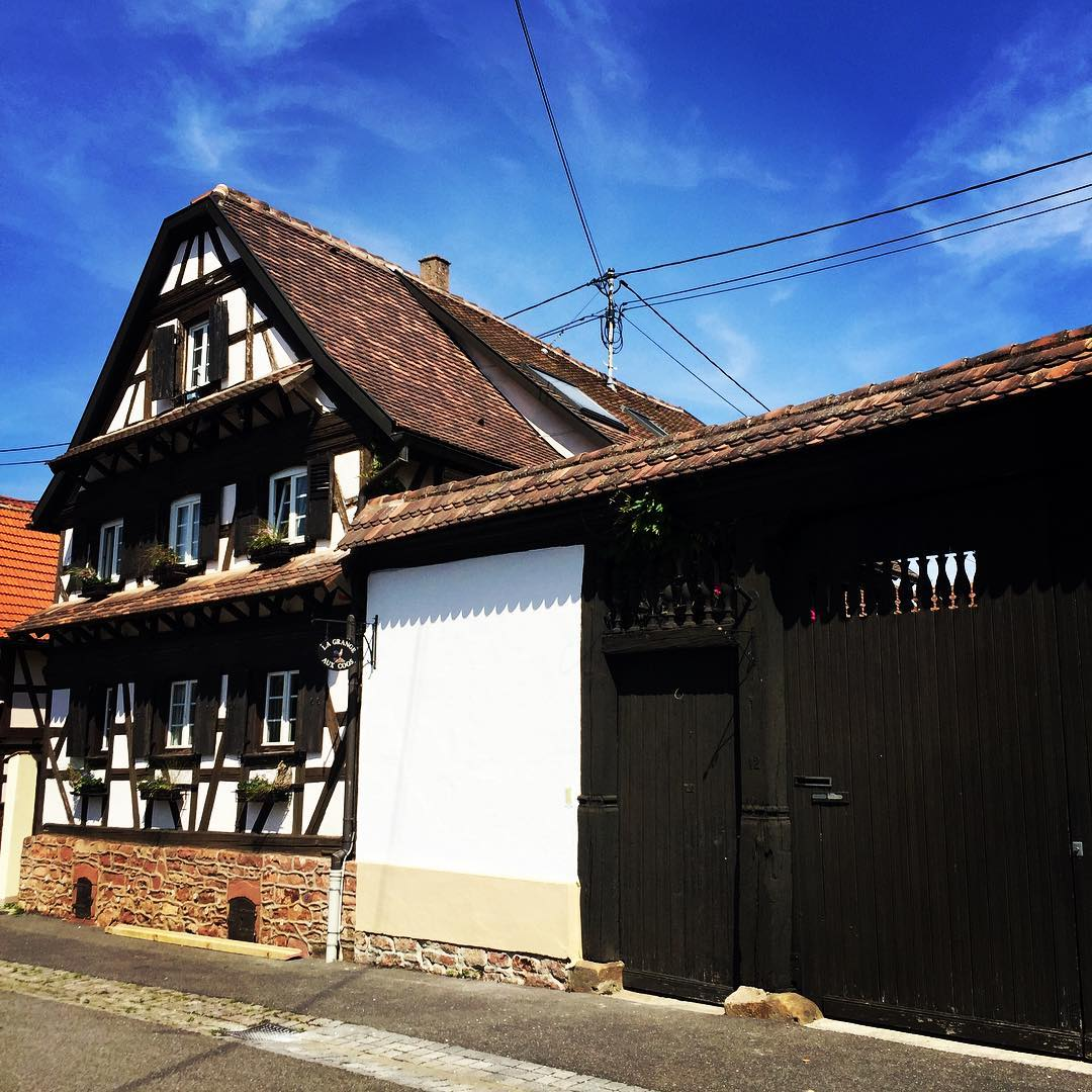 Chambre d'hôtes la Grange aux Coqs - La Basse-Cour (Ittenheim)
